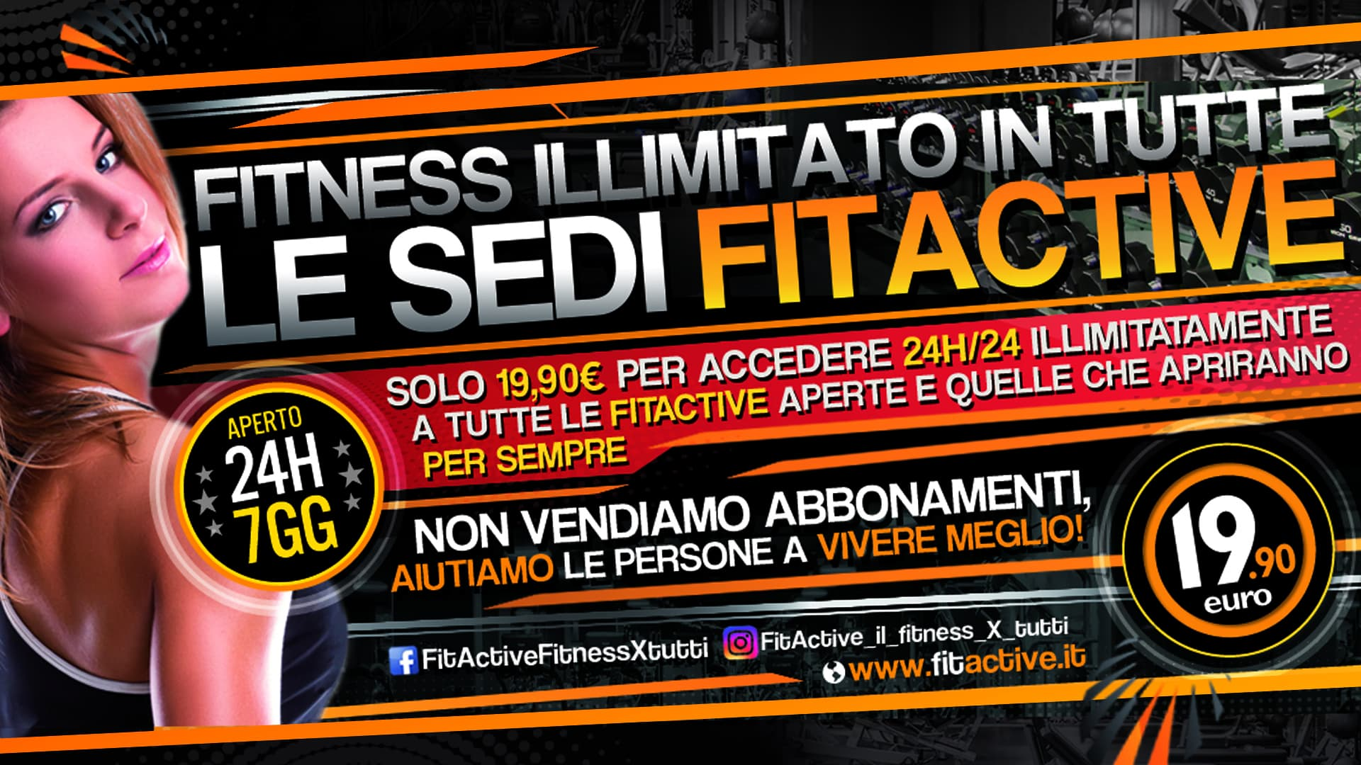 FitActive Fitness Illimitato per sempre!